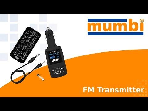 mumbi KFZ FM-Transmitter Videoanleitung / Tutorial - Funktionen einfach erklärt